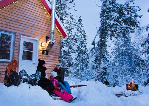 FAQ hiver Micro-Chalets des Appalaches
